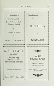 Page 13, 1938 Edition, Pickering College - Voyageur Yearbook (Newmarket, Ontario Canada) online yearbook collection
