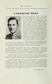 Page 16, 1938 Edition, Pickering College - Voyageur Yearbook (Newmarket, Ontario Canada) online yearbook collection