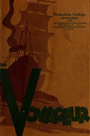 Pickering College - Voyageur Yearbook (Newmarket, Ontario Canada) online yearbook collection, 1939 Edition, Page 1