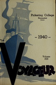 Pickering College - Voyageur Yearbook (Newmarket, Ontario Canada) online yearbook collection, 1940 Edition, Page 1