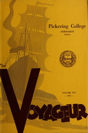 Page 1, 1941 Edition, Pickering College - Voyageur Yearbook (Newmarket, Ontario Canada) online yearbook collection