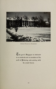 Page 15, 1941 Edition, Pickering College - Voyageur Yearbook (Newmarket, Ontario Canada) online yearbook collection