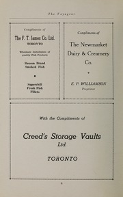 Page 6, 1941 Edition, Pickering College - Voyageur Yearbook (Newmarket, Ontario Canada) online yearbook collection