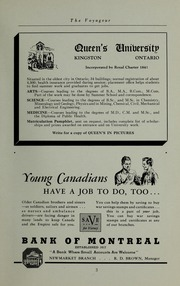 Page 5, 1943 Edition, Pickering College - Voyageur Yearbook (Newmarket, Ontario Canada) online yearbook collection