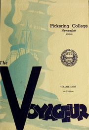 Page 1, 1945 Edition, Pickering College - Voyageur Yearbook (Newmarket, Ontario Canada) online yearbook collection