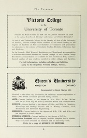 Page 8, 1945 Edition, Pickering College - Voyageur Yearbook (Newmarket, Ontario Canada) online yearbook collection