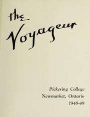 Page 5, 1949 Edition, Pickering College - Voyageur Yearbook (Newmarket, Ontario Canada) online yearbook collection