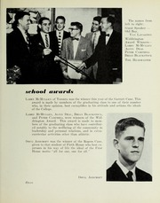 Page 17, 1956 Edition, Pickering College - Voyageur Yearbook (Newmarket, Ontario Canada) online yearbook collection