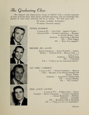 Page 17, 1957 Edition, Pickering College - Voyageur Yearbook (Newmarket, Ontario Canada) online yearbook collection