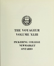 Page 5, 1970 Edition, Pickering College - Voyageur Yearbook (Newmarket, Ontario Canada) online yearbook collection