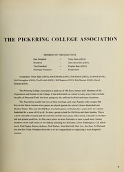 Page 13, 1973 Edition, Pickering College - Voyageur Yearbook (Newmarket, Ontario Canada) online yearbook collection