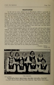 Page 12, 1933 Edition, Riverbend School for Girls - Vox Fluminis Yearbook (Winnipeg, Manitoba Canada) online yearbook collection