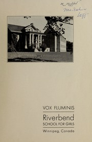 Page 3, 1940 Edition, Riverbend School for Girls - Vox Fluminis Yearbook (Winnipeg, Manitoba Canada) online yearbook collection