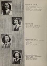 Page 10, 1947 Edition, Riverbend School for Girls - Vox Fluminis Yearbook (Winnipeg, Manitoba Canada) online yearbook collection