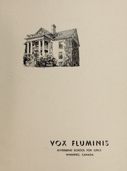 Page 3, 1947 Edition, Riverbend School for Girls - Vox Fluminis Yearbook (Winnipeg, Manitoba Canada) online yearbook collection