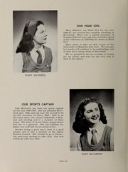 Page 8, 1947 Edition, Riverbend School for Girls - Vox Fluminis Yearbook (Winnipeg, Manitoba Canada) online yearbook collection