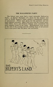 Page 17, 1930 Edition, Ruperts Land Girls School - Eagle Yearbook (Winnipeg, Manitoba Canada) online yearbook collection