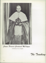 Page 10, 1955 Edition, Junipero Serra High School - El Padre Yearbook (Gardena, CA) online yearbook collection