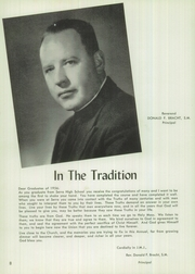Page 12, 1956 Edition, Junipero Serra High School - El Padre Yearbook (Gardena, CA) online yearbook collection
