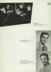 Page 16, 1956 Edition, Junipero Serra High School - El Padre Yearbook (Gardena, CA) online yearbook collection