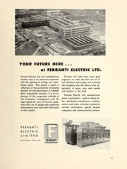 Page 7, 1957 Edition, University of Toronto Engineering Society - Skule Yearbook (Toronto, Ontario Canada) online yearbook collection