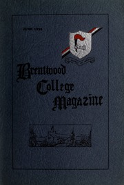 Page 1, 1935 Edition, Brentwood College School - Brentonian Yearbook (Mill Bay, British Columbia Canada) online yearbook collection