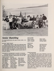 Page 151, 1984 Edition, Brentwood College School - Brentonian Yearbook (Mill Bay, British Columbia Canada) online yearbook collection