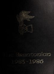 1986 Edition, Brentwood College School - Brentonian Yearbook (Mill Bay, British Columbia Canada)