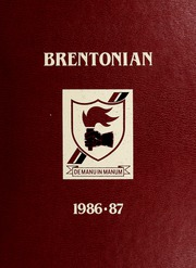1987 Edition, Brentwood College School - Brentonian Yearbook (Mill Bay, British Columbia Canada)