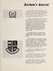 Page 9, 1968 Edition, Durham College - Yearbook (Oshawa, Ontario Canada) online yearbook collection