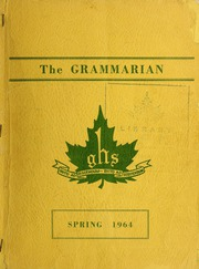 Page 1, 1964 Edition, Halifax Grammar School - Grammarian Yearbook (Halifax, Nova Scotia Canada) online yearbook collection