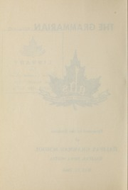 Page 4, 1966 Edition, Halifax Grammar School - Grammarian Yearbook (Halifax, Nova Scotia Canada) online yearbook collection