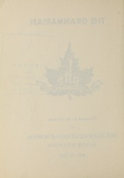 Page 4, 1967 Edition, Halifax Grammar School - Grammarian Yearbook (Halifax, Nova Scotia Canada) online yearbook collection