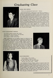 Page 7, 1971 Edition, Halifax Grammar School - Grammarian Yearbook (Halifax, Nova Scotia Canada) online yearbook collection