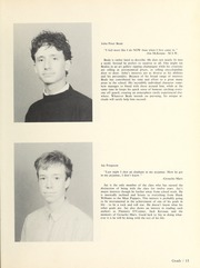 Page 17, 1986 Edition, Halifax Grammar School - Grammarian Yearbook (Halifax, Nova Scotia Canada) online yearbook collection