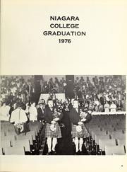 Page 13, 1976 Edition, Niagara College of Applied Arts and Technology - Yearbook (Welland, Ontario Canada) online yearbook collection