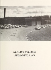 Page 5, 1979 Edition, Niagara College of Applied Arts and Technology - Yearbook (Welland, Ontario Canada) online yearbook collection