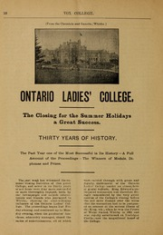 Page 12, 1902 Edition, Trafalgar Castle School - Yearbook (Whitby, Ontario Canada) online yearbook collection
