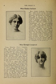 Page 10, 1912 Edition, Trafalgar Castle School - Yearbook (Whitby, Ontario Canada) online yearbook collection