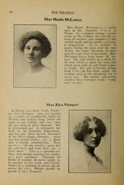 Page 12, 1912 Edition, Trafalgar Castle School - Yearbook (Whitby, Ontario Canada) online yearbook collection