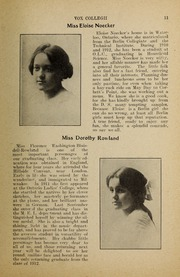 Page 13, 1912 Edition, Trafalgar Castle School - Yearbook (Whitby, Ontario Canada) online yearbook collection