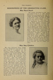 Page 4, 1912 Edition, Trafalgar Castle School - Yearbook (Whitby, Ontario Canada) online yearbook collection