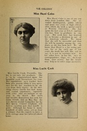 Page 5, 1912 Edition, Trafalgar Castle School - Yearbook (Whitby, Ontario Canada) online yearbook collection