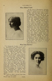 Page 8, 1912 Edition, Trafalgar Castle School - Yearbook (Whitby, Ontario Canada) online yearbook collection