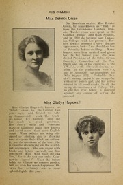 Page 9, 1912 Edition, Trafalgar Castle School - Yearbook (Whitby, Ontario Canada) online yearbook collection