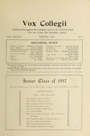 Page 5, 1917 Edition, Trafalgar Castle School - Yearbook (Whitby, Ontario Canada) online yearbook collection