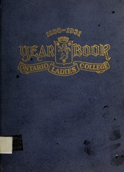 Page 1, 1931 Edition, Trafalgar Castle School - Yearbook (Whitby, Ontario Canada) online yearbook collection