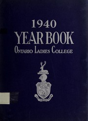 Trafalgar Castle School - Yearbook (Whitby, Ontario Canada) online yearbook collection, 1940 Edition, Page 1
