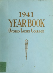 Trafalgar Castle School - Yearbook (Whitby, Ontario Canada) online yearbook collection, 1941 Edition, Page 1