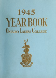 Trafalgar Castle School - Yearbook (Whitby, Ontario Canada) online yearbook collection, 1945 Edition, Page 1
